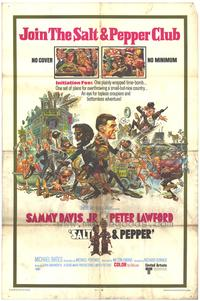 Salt and Pepper - 43 x 62 Movie Poster - Bus Shelter Style A