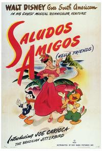 Saludos Amigos - 27 x 40 Movie Poster - Style A