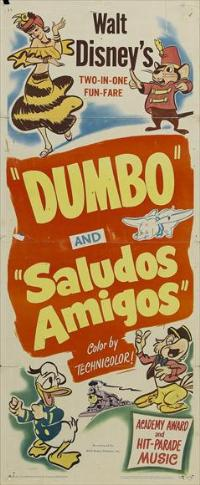 Saludos Amigos - 14 x 36 Movie Poster - Insert Style A