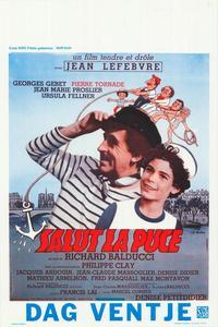 Salut la puce - 27 x 40 Movie Poster - Belgian Style A