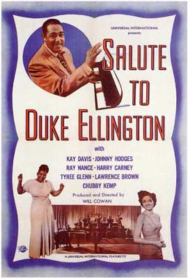 Salute to Duke Ellington - 11 x 17 Movie Poster - Style A
