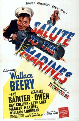 Salute to the Marines - 11 x 17 Movie Poster - Style A