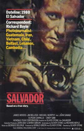 Salvador - 11 x 17 Movie Poster - Style B