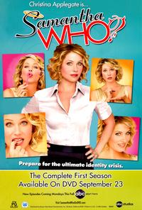 Samantha Who - 43 x 62 Movie Poster - Bus Shelter Style A