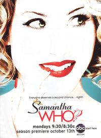 Samantha Who - 43 x 62 Movie Poster - Bus Shelter Style B
