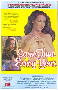 Same Time Every Year - 27 x 40 Movie Poster - Style A