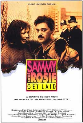 Sammy and Rosie Get Laid - 27 x 40 Movie Poster - Style A