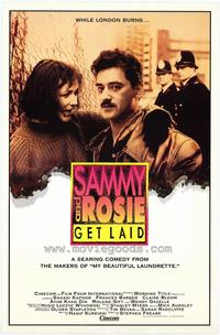 Sammy and Rosie Get Laid - 43 x 62 Movie Poster - Bus Shelter Style A