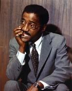Sammy Davis Jr. - Sammy Jr Davis Looking Away in Tuxedo Portrait