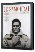 Samourai, Le - 27 x 40 Movie Poster - French Style A - Museum Wrapped Canvas
