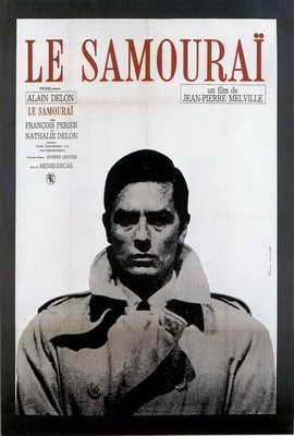 Samourai, Le - 27 x 40 Movie Poster - French Style A
