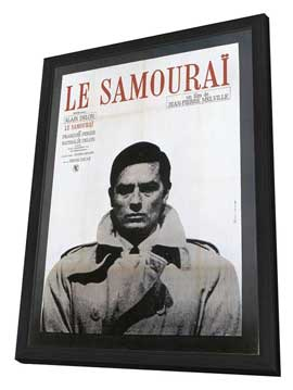 Samourai, Le - 27 x 40 Movie Poster - French Style A - in Deluxe Wood Frame