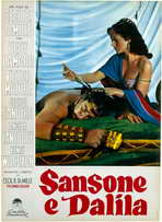 Samson and Delilah - 11 x 17 Poster - Foreign - Style A