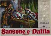 Samson and Delilah - 11 x 14 Poster Italian Style G