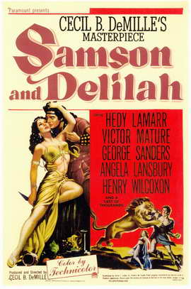 Samson and Delilah - 11 x 17 Movie Poster - Style A