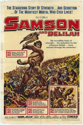 Samson and Delilah - 11 x 17 Movie Poster - Style B