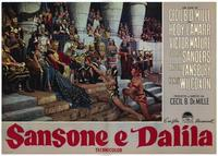 Samson and Delilah - 11 x 14 Poster Italian Style A