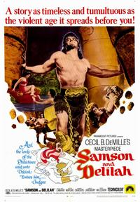 Samson and Delilah - 43 x 62 Movie Poster - Bus Shelter Style A
