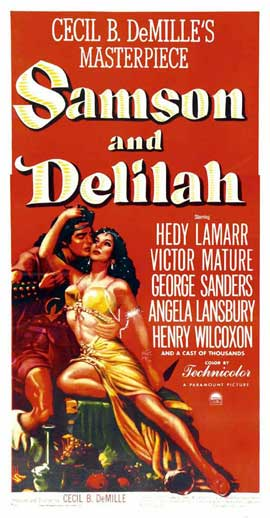 Samson and Delilah - 11 x 17 Movie Poster - Style E