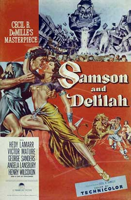 Samson and Delilah - 11 x 17 Movie Poster - Style F