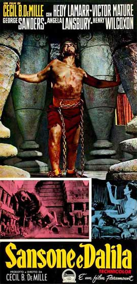 Samson and Delilah - 11 x 17 Movie Poster - Style H