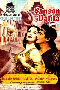 Samson and Delilah - 27 x 40 Movie Poster - Spanish Style A