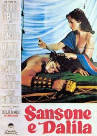 Samson and Delilah - 11 x 17 Movie Poster - French Style A