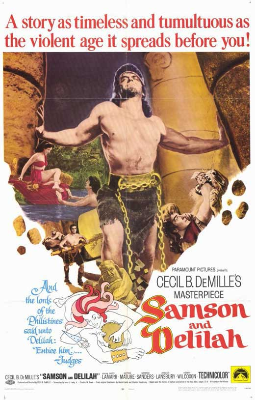 samson and delilah movie posters from movie poster shop