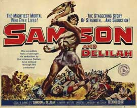 Samson and Delilah - 22 x 28 Movie Poster - Half Sheet Style A