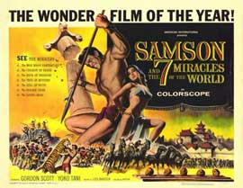 Samson and the 7 Miracles of the World - 11 x 14 Movie Poster - Style A