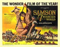Samson and the 7 Miracles of the World - 22 x 28 Movie Poster - Half Sheet Style A