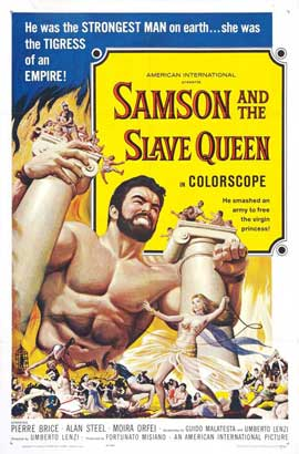 Samson and the Slave Queen - 11 x 17 Movie Poster - Style A