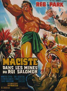 Samson in King Solomon's Mines - 11 x 17 Movie Poster - French Style A