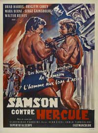 Samson - 11 x 17 Movie Poster - French Style A