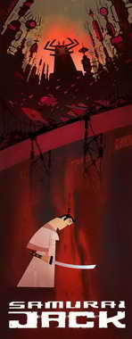 Samurai Jack - 14 x 36 Movie Poster - Insert Style A