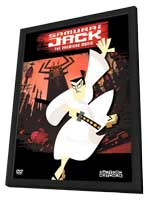 Samurai Jack - 11 x 17 Movie Poster - Style A - in Deluxe Wood Frame
