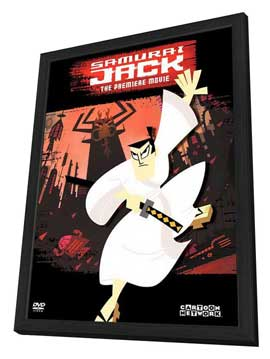 Samurai Jack - 27 x 40 Movie Poster - Style A - in Deluxe Wood Frame