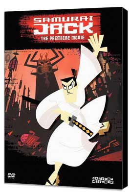Samurai Jack - 27 x 40 Movie Poster - Style A - Museum Wrapped Canvas