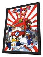 Samurai Pizza Cats (TV) - 11 x 17 TV Poster - Style A - in Deluxe Wood Frame