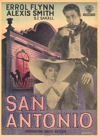 San Antonio - 11 x 17 Poster - Foreign - Style B