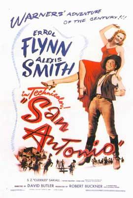 San Antonio - 11 x 17 Movie Poster - Style A