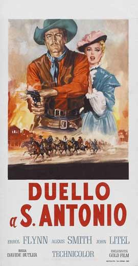 San Antonio - 13 x 28 Movie Poster - Italian Style A