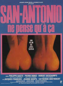 San-Antonio ne pense qu'a ca - 11 x 17 Movie Poster - French Style A