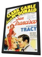 San Francisco - 11 x 17 Movie Poster - Style A - in Deluxe Wood Frame