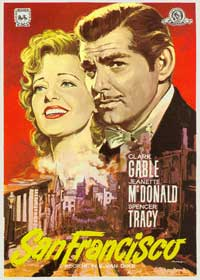 San Francisco - 11 x 17 Movie Poster - Spanish Style C