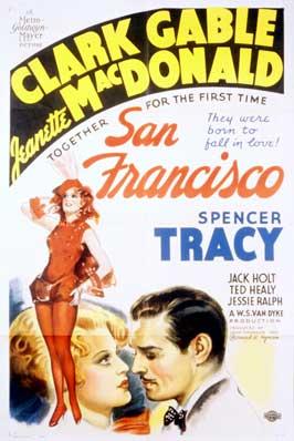 San Francisco - 11 x 17 Movie Poster - Style E