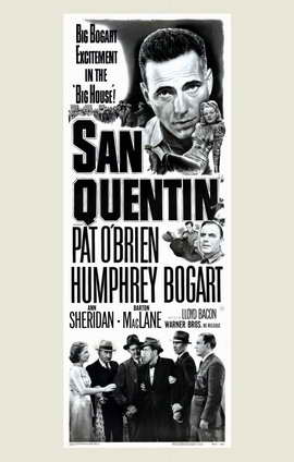 San Quentin - 11 x 17 Movie Poster - Style B