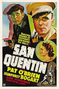 San Quentin - 11 x 17 Movie Poster - Style D