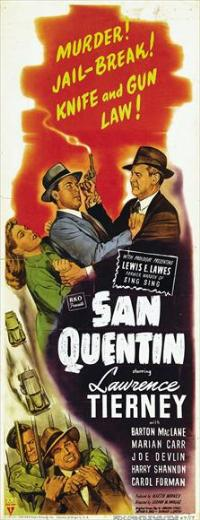 San Quentin - 14 x 36 Movie Poster - Insert Style A