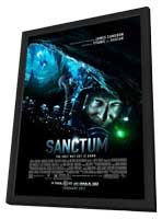 Sanctum - 11 x 17 Movie Poster - Style B - in Deluxe Wood Frame